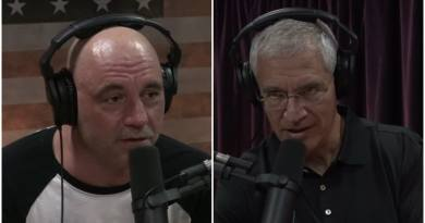 Louie Psihoyos and Joe Rogan
