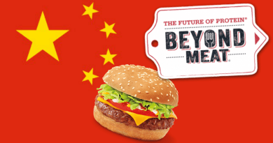 beyond meat moving into china