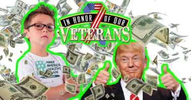 Vegan Evan Offers Trump 1 million dollar donation to veterans