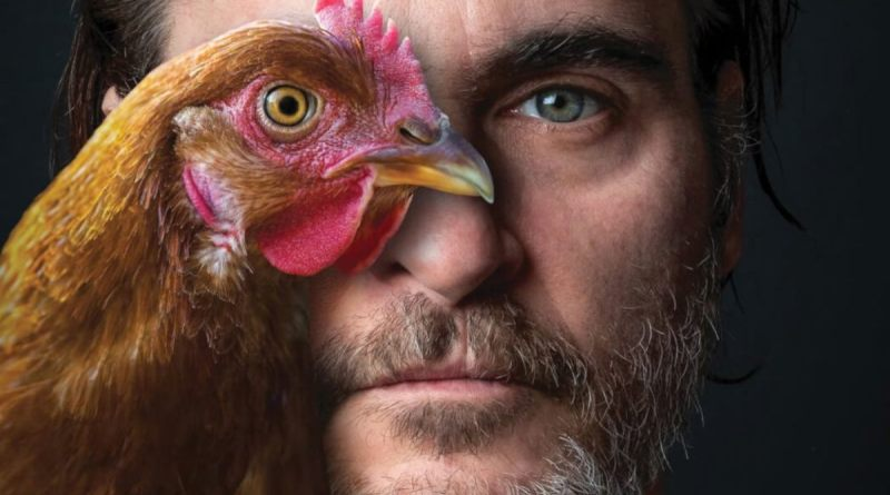 Joaquin Phoenix named Peta's person of the year