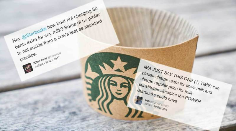 PETA buys stock in Starbucks to end the vegan tax