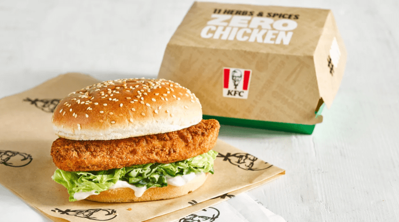 KFC UK is adding a Vegan Chicken sandwich to their menu called the Imposter Burger with a patty from Quorn