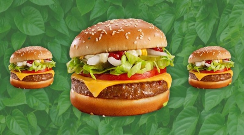Chris Kempczinski president and CEO of McDonald's international and former president of McDonald's USA said the company is getting plant-based vegan options