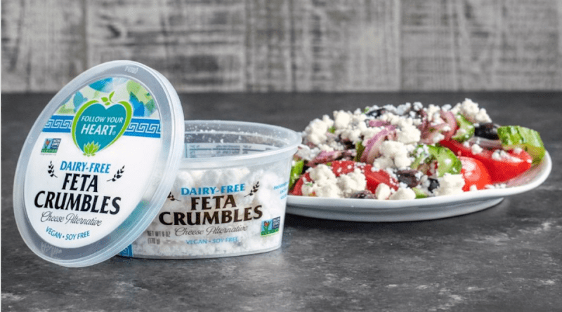 Follow Your Heart launched their new plant-based vegan feta cheese on June 20th in California and it's now in the entire United States.
