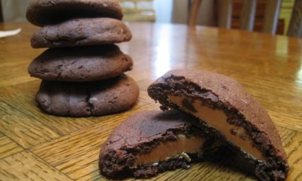 Peanut Butter Filled Chocolate Cookies