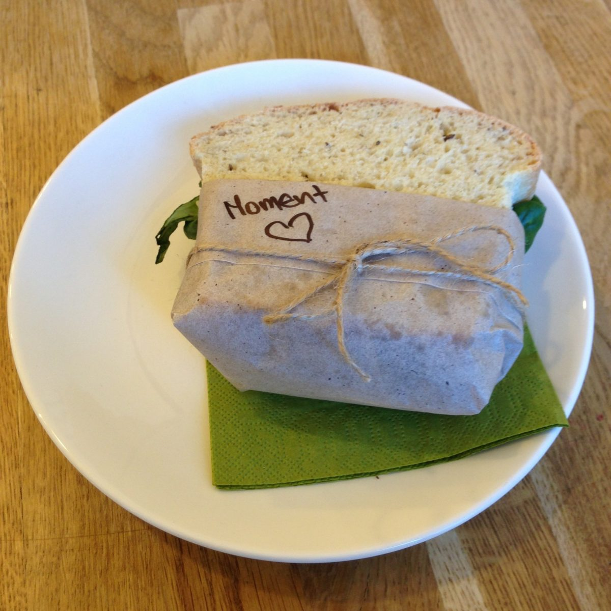 Vegan Tempeh Sandwich Moment Cafe Prague | Vegan Nom Noms