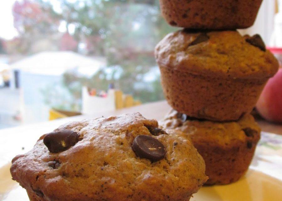Vegan Cappuccino Muffins