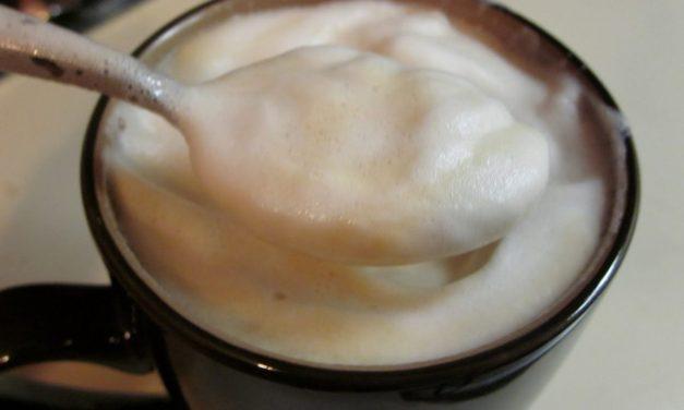 Steamed Frothy (Soy)milk and Babka Food Porn