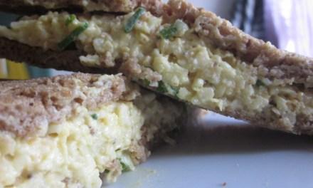 Vegan Egg Salad: Secret Ingredient = Noodles (Yes, really!)