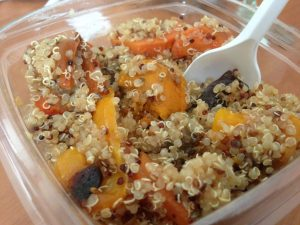Organic Foods and Cafe Dubai Quinoa Salad | Vegan Nom Noms