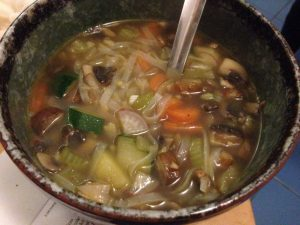 Rice Noodle Vegetable Soup | Vegan Nom Noms