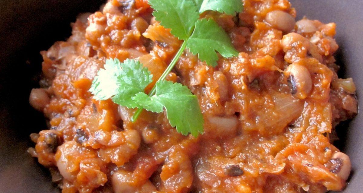 Ghanaian Red Red Stew (Gluten-free)