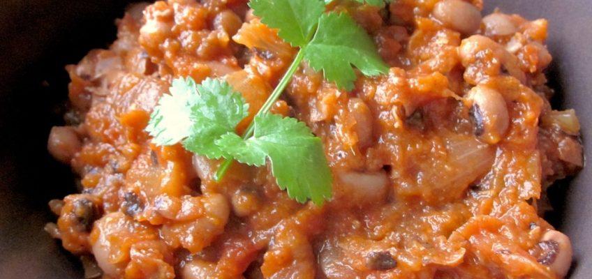 Gluten-free Stew with Black-Eyed Peas