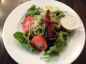 Chicago Diner Ranch Salad | Vegan Nom Noms
