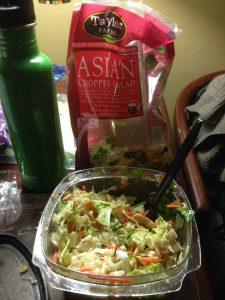 Grocery Store Vegan Travel Dinner | Vegan Nom Noms
