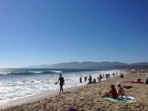Santa Monica Beach Los Angeles | Vegan Nom Noms
