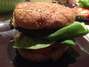 Homemade Portobello Burger | Vegan Nom Noms