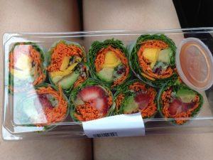 Whole Foods Rainbow Summer Rolls | Vegan Nom Noms