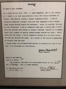 UFO Museum Statement | Vegan Nom Noms
