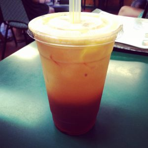 Vegan Thai Iced Tea Veggie Heaven Austin | Vegan Nom Noms