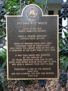 Anne Rice House New Orleans | Vegan Nom Noms