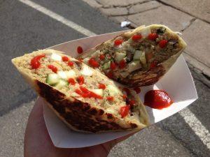 Foo Truck Thai Curry Quinoa Wrap | Vegan Nom Noms