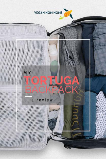 Tortuga Backpack Pinterest Pin Image