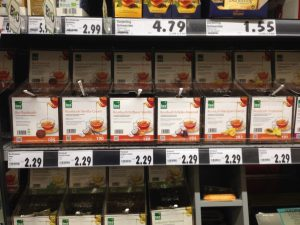 Kaufland Schöneweide Tea Section Tee