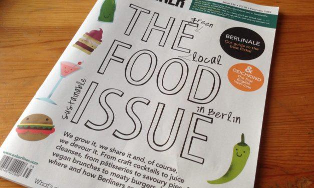 Vegan Nom Noms in Exberliner Magazine!