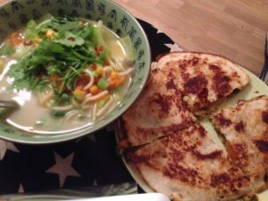 Ramen and Weird Quesadillas - Vegan Nom Noms