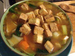 Vegan Ramen with Tofu - Vegan Nom Noms