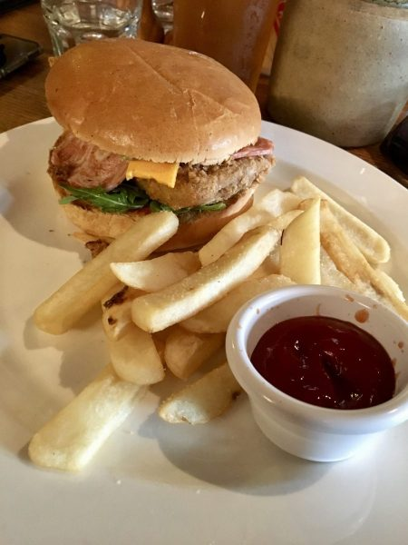 The Cornish Arms Vegan Chicken Burger Melbourne
