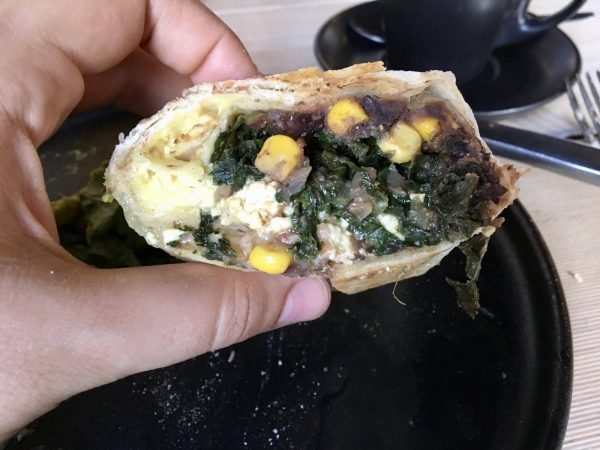 Smith & Daughters Vegan Breakfast Burrito Melbourne