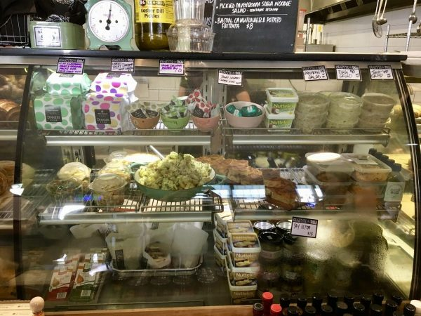 Smith & Deli Vegan Deli Case Melbourne