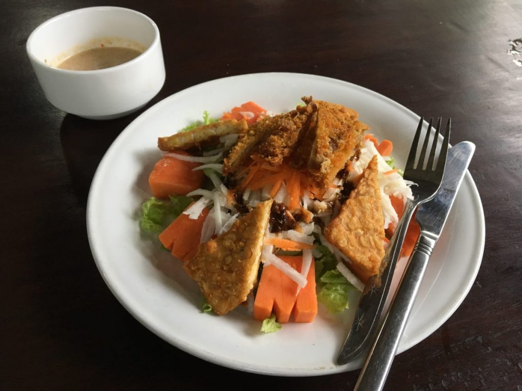 Siboghana Waroeng Ubud - Vegan Bali Cheap Vegan Food