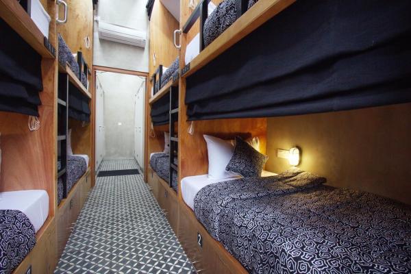 Sunshine Hostel Ubud Beds