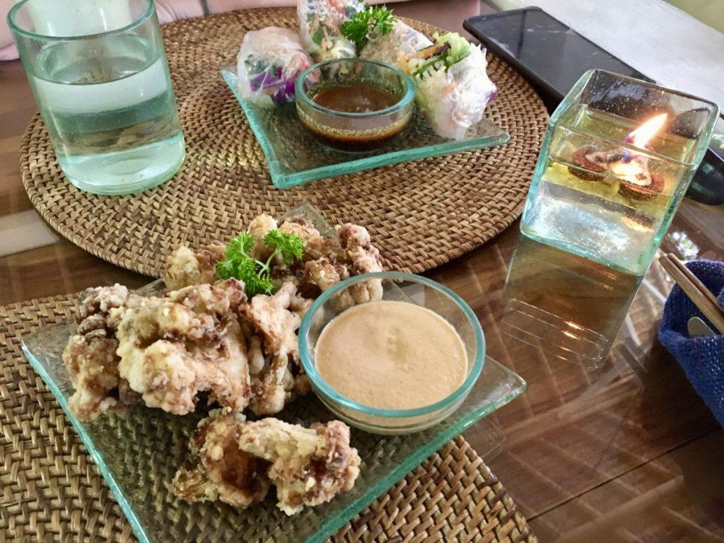 Sage Bali Vegan Ubud Cauliflower Fritas