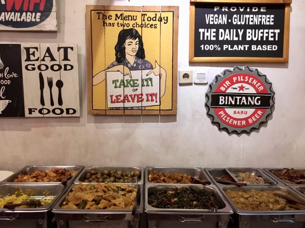 Sawobali Cake & Coffee Shop Ubud - Vegan Bali Buffet