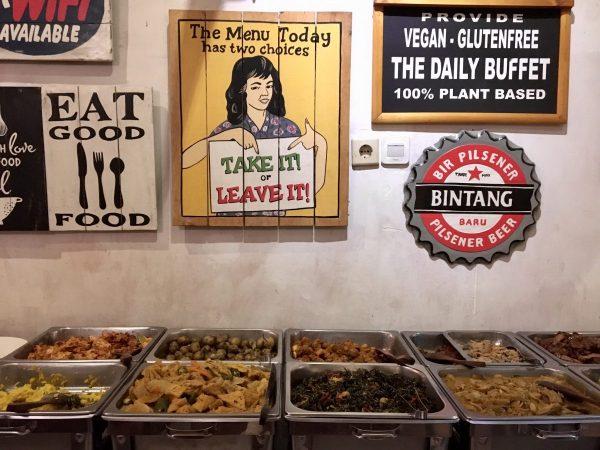 Sawobali Cake & Coffee Shop Ubud - Vegan Bali Buffet