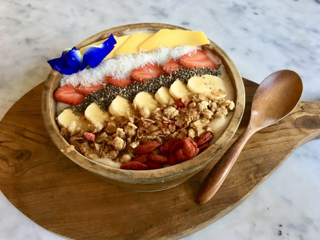 Mudra Cafe Ubud - Vegan Smoothie Bowl