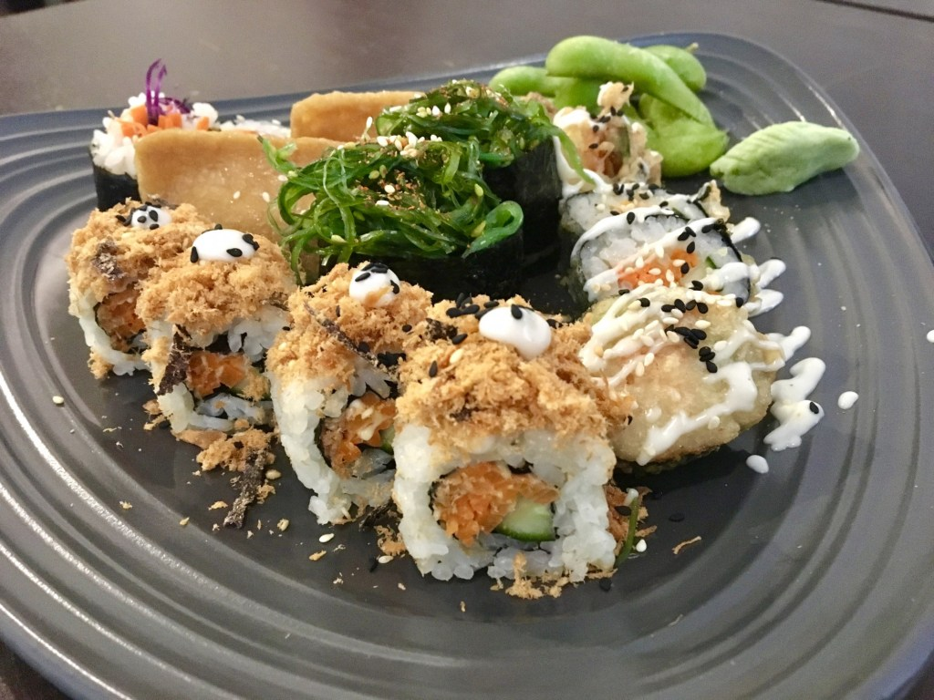 Sushi Kitchen Vegan Penang Sushi Platter