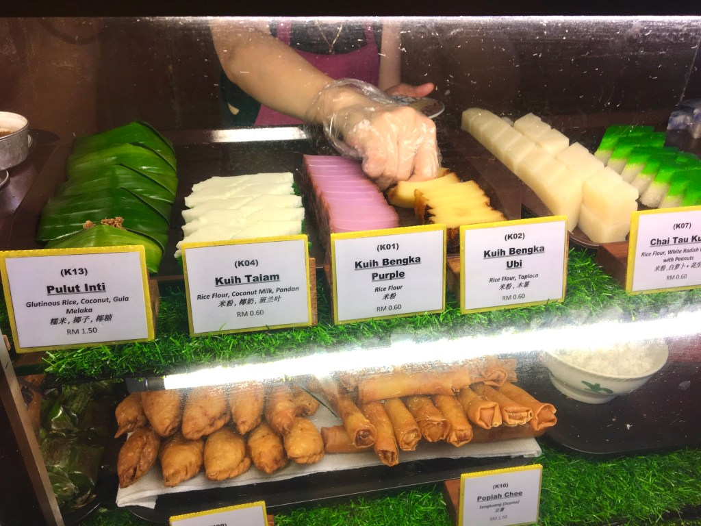 Malaysian sweet called kuih, most are accidentally vegan