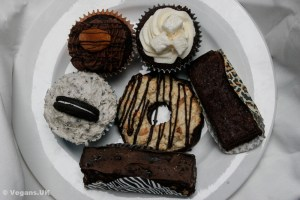 Vegan cakes from Missy's Vegan Cupcakes in Edinburgh