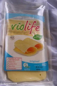 Violife, one of the great vegan cheeses
