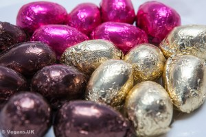 Vegan Town chocolate truffle eggs
