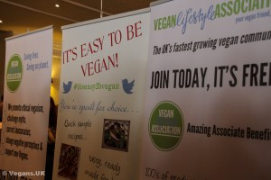 Vegan Lifestyle Association stand