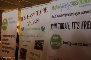 Vegan Lifestyle Association stand