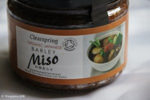 Fancy barley miso from Clear Spring