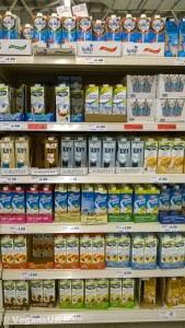 Plant milks are easy to get hold of
