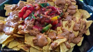 Unusual but yummy nachos